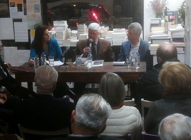 Στιγμιότυπο από την συζήτηση...