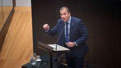 Ortega Smith es reprobado en el Ayuntamiento de Madrid gracias al voto de