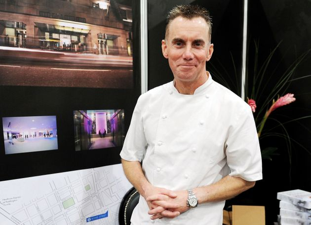 British celebrity chef Gary Rhodes is seen here in December 2011 in London. He worked on popular TV shows...