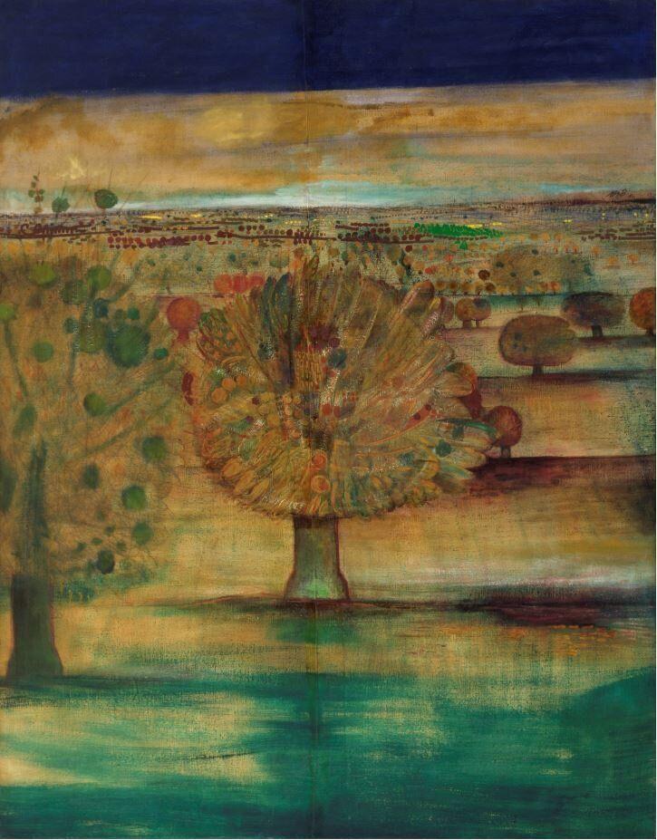René BrôAutunno a CourgeronL'Automne à Courgeron, 1960Olio su tela / Oil on canvas187 x 146,5 cm