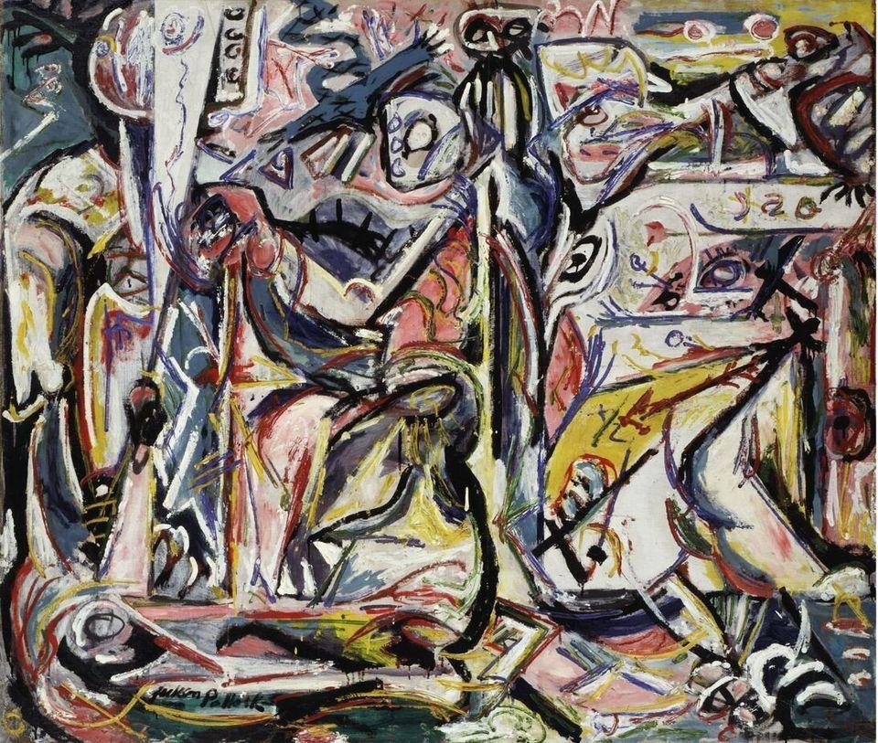 Jackson PollockCirconcisioneCircumcision, gennaio / January 1946Olio su tela / Oil on canvas142,3 x 168 cmCollezione Peggy Guggenheim, Venezia