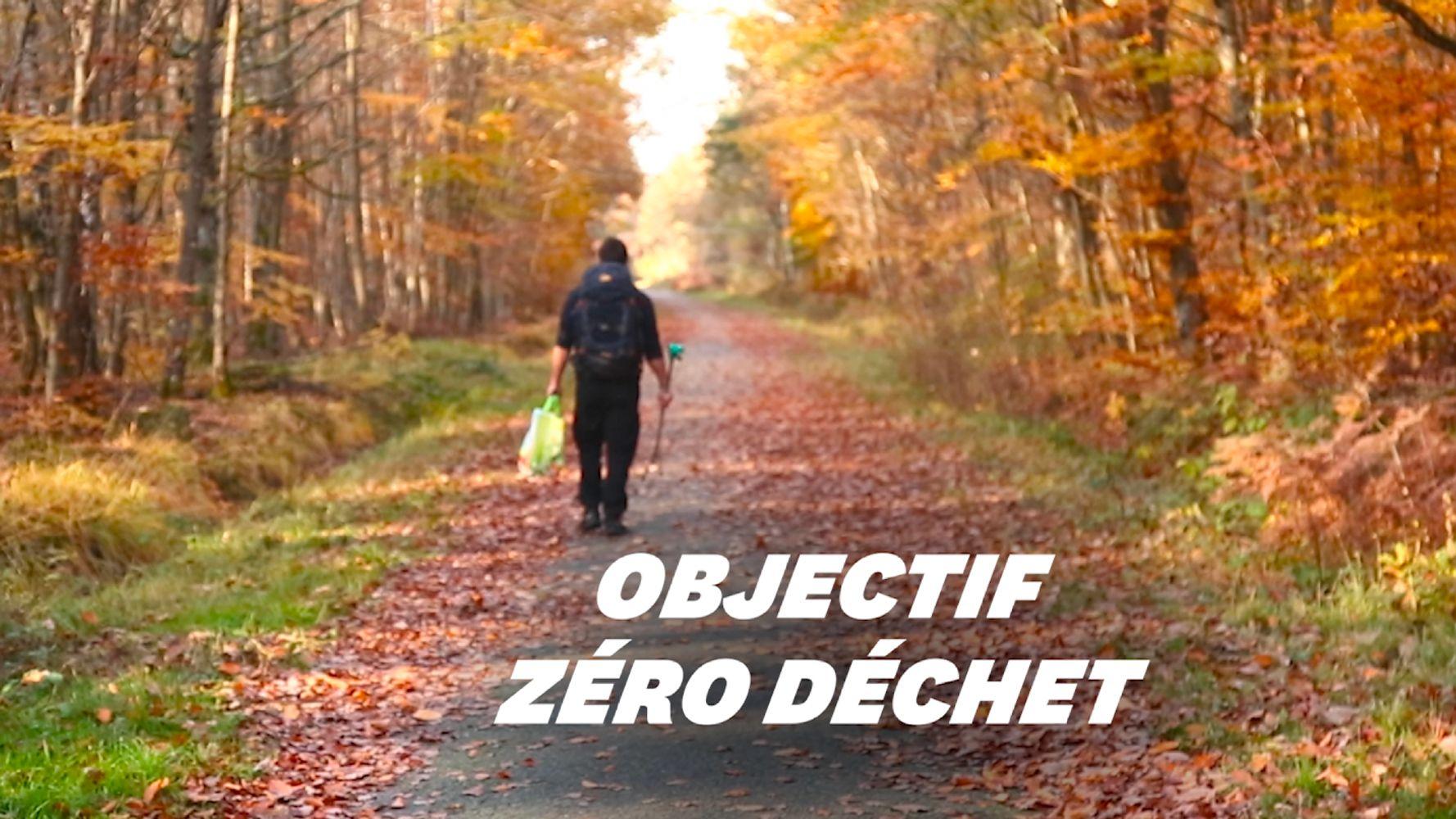 Kevin Plessis a traversé l'Europe à pied en ramassant 6700 déchets sur son passage