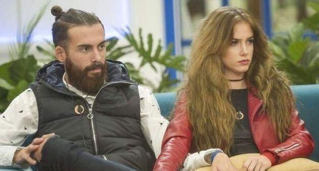 José María López y Carlota Pardo, cuando eran pareja en 'GH Revolution'.