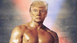 Trump s'affiche en Rocky pour vanter son