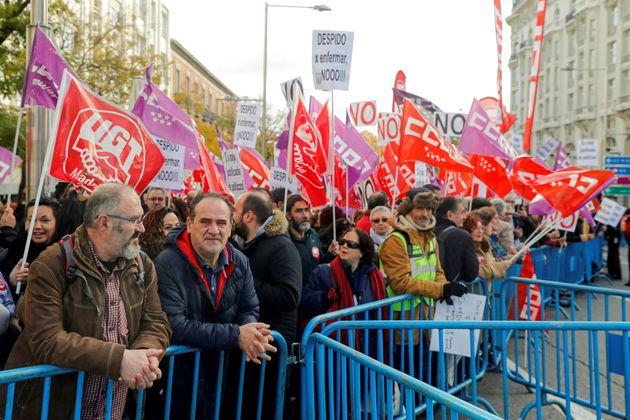 Protesta frente al