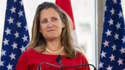Freeland Returns To Washington To Get U.S. To Make A Move On