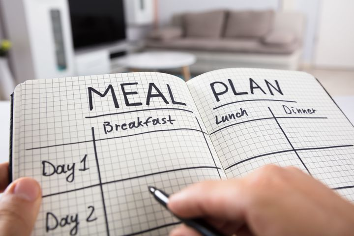 Meal planning can help you incorporate healthy choices into your diet more easily.
