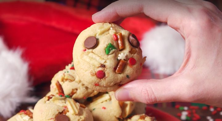 Santa's trash cookies are perfect for the parent who feels like a dumpster fire.