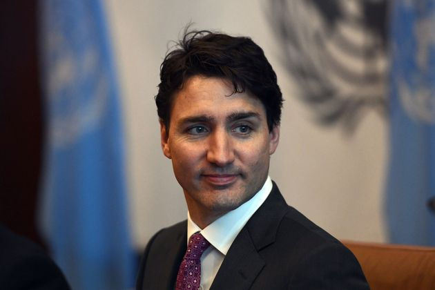 Prime Minister Justin Trudeau attends a meeting with United Nations Secretary General Antonio Guterres...