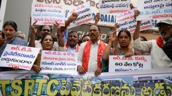 KCR's Stubbornness May Cost 48,000 Telangana Workers Their
