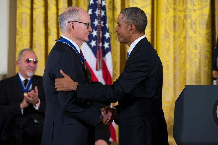 President Barack Obama awarded Ruckelshaus the Presidential Medal of Freedom in 2015.