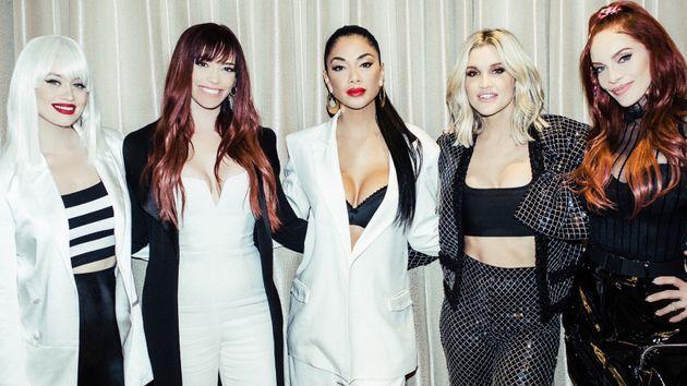 Pussycat Dolls 2019 (l-r)Kimberly Wyatt, Jessica Sutta,Nicole Scherzinger, Ashley Roberts...