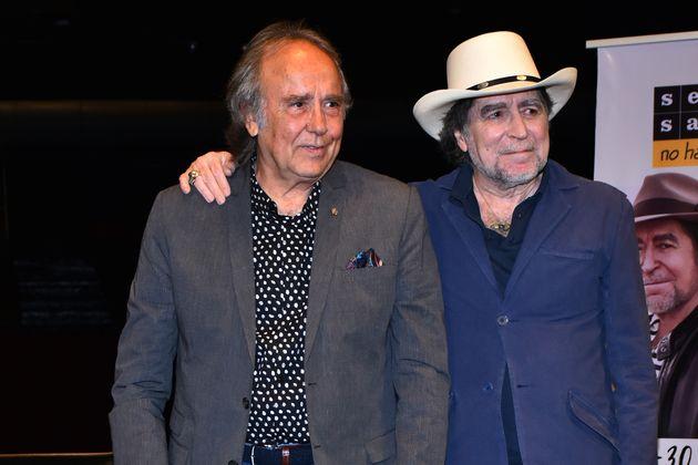 Joaquín Sabina y Joan Manuel Serrat en