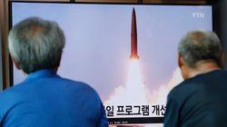 북한이 또 미상의 발사체를 발사했다