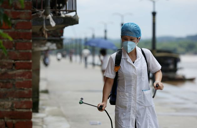 La Chine a pris plusieurs mesures de prévention contre l'épidémie de peste pulmonaire (photo