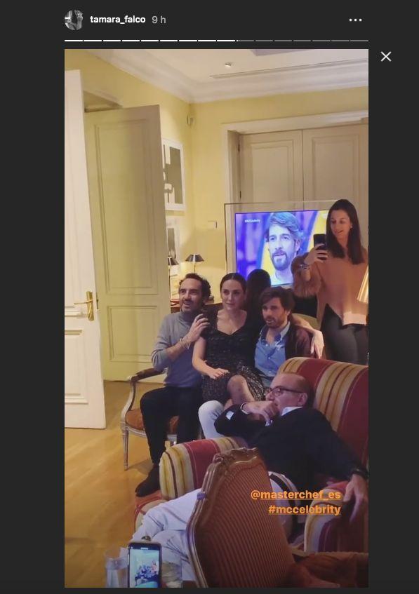 La fiesta en casa de Isabel Preysler para ver la final de 'MasterChef