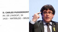 La tremenda ofensa de Puigdemont por lo que se puede leer en el sobre que le ha enviado el Tribunal de