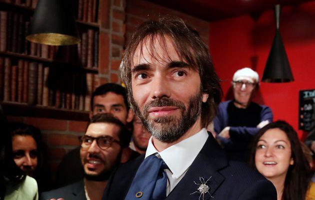 Cédric Villani lors du lancement de sa campagne dissidente au mois de septembre à