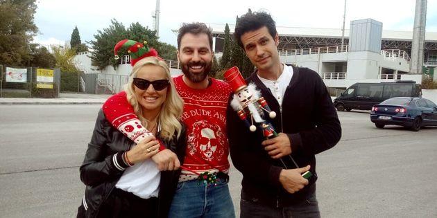 Σωματείο ΕΛΙΖΑ κατά της κακοποίησης του παιδιού: Ενα χριστουγεννιάτικο καραόκε για καλό