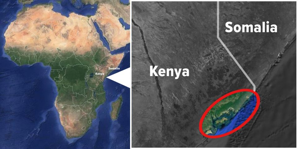 Red outline shows approximate area of Safari Doctors'