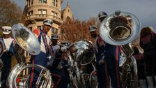 Maryland HBCU Marching Band Kicks Off Macy ' s 2019 Thanksgiving Day Parade