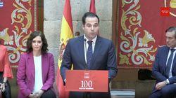 Cachondeo con lo que ha hecho Díaz Ayuso mientras hablaba Ignacio Aguado: ojo a su