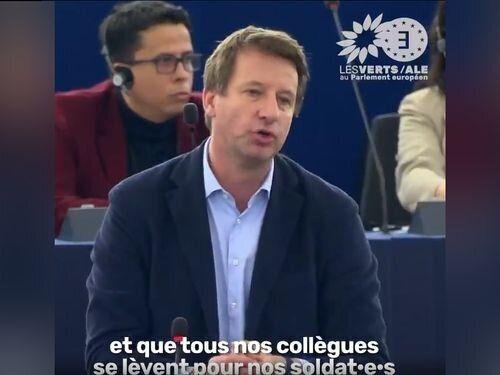 Yannick Jadot rembarré par le président du Parlement européen? Ce n'est pas si