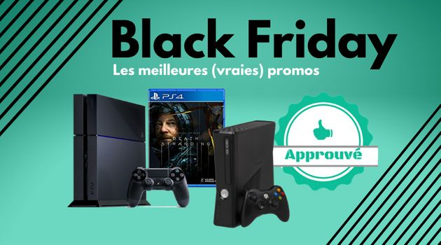 Pour le Black Friday, quelles consoles sont en vrai