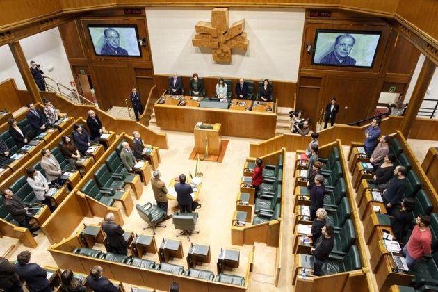 El Parlamento vasco aprueba una resolución que defiende el derecho a