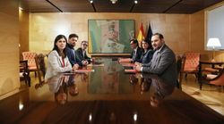 ERC se mantiene en el 'no' pero habrá otra reunión con el PSOE el próximo
