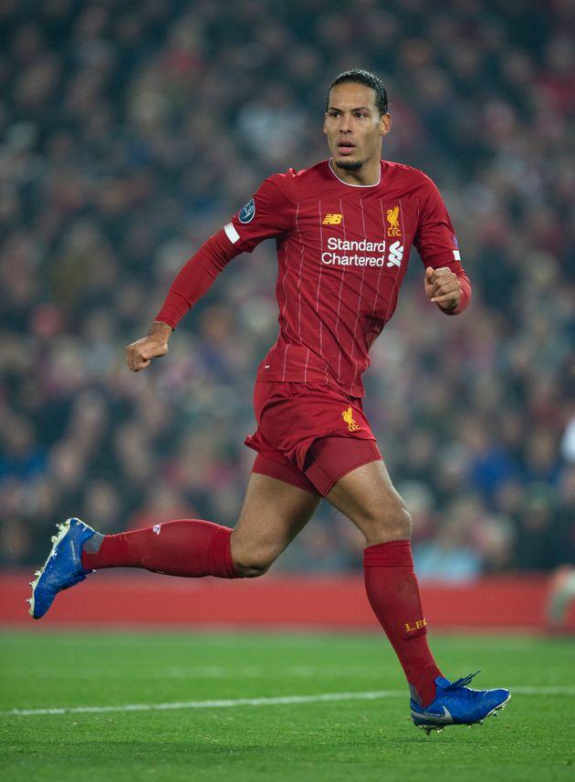 Virgil Van Dijk, ici lors de Liverpool-Genk en Ligue des champions le 5 novembre