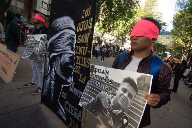 La muerte del estudiante colombiano Dilan Cruz por la violencia policial fue un