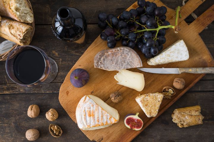 Yes, this is a staged photo, but your cheese platter can (almost) look this good!