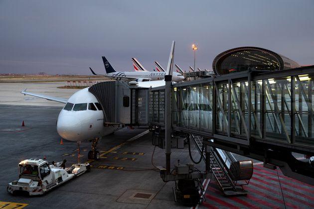 Image d'illustration. Un airbus A320 de la compagnie Air France à l'aéroport Roissy-Charles de