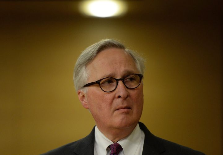 File photo of Richard Fadden at Senate national security and defence committee in Ottawa on April 27, 2015.
