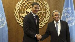 Pedro Sánchez inaugurará la Cumbre del Clima junto al secretario general de la