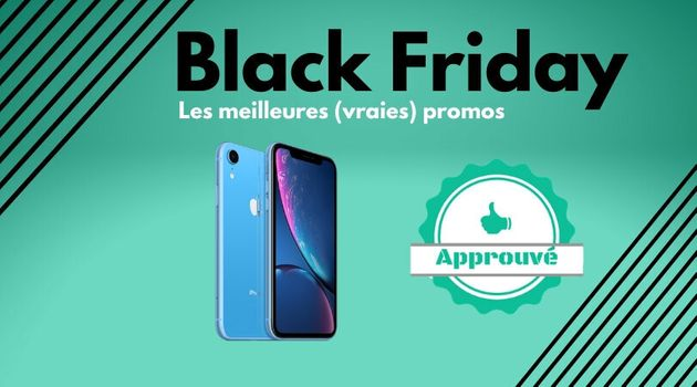 Pendant le Black Friday, les meilleurs iPhone en promo sélectionnés par Le