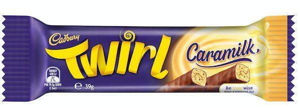 Twirl Caramilk will hit shelves from January