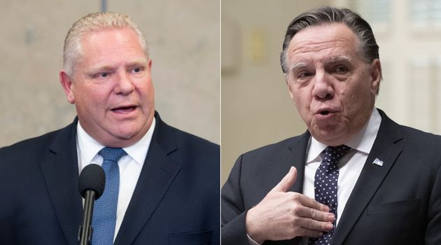 Ontario Premier Doug Ford confirmed Thursday that he won't raise Bill 21 when he meets with Quebec Premier...