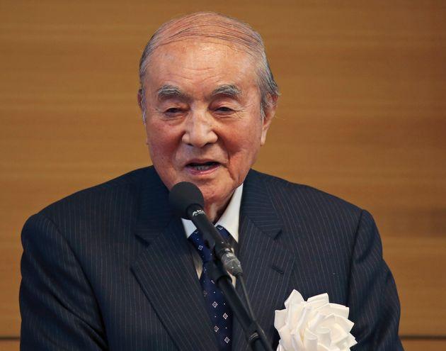 中曽根康弘氏(2015年5月撮影)