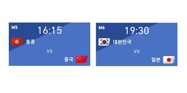 '한국 대 일본·홍콩 대 중국' EAFF E-1 챔피언십 대표팀 명단이