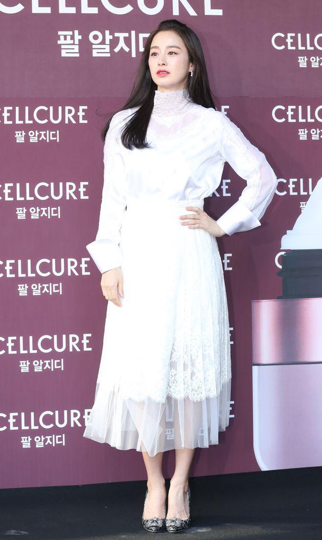 활동 복귀 알린 김태희가 공식석상에 등장했다
