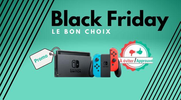 Y a-t-il de bonnes promos sur la Switch de Nintendo pour le Black