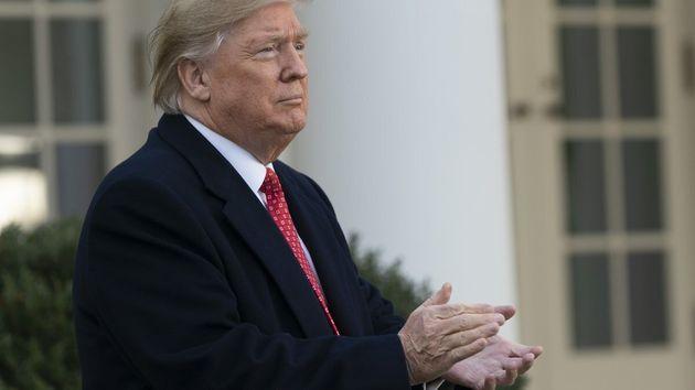 El presidente de EEUU, Donald Trump, ha visitado por sorpresa