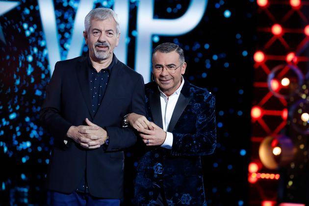 Jorge Javier Vázquez y Carlos Sobera, en 'GH