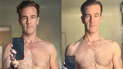 Ο Τζέιμς Βαν Ντερ Μπικ μας δείχνει την τεράστια αλλαγή στο σώμα του - και δεν έγινε στο