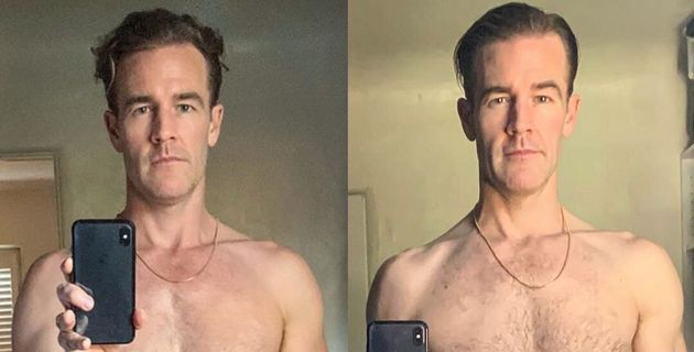 Instagram/James Van Der Beek