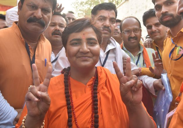 BJP MP Pragya Thakur in a file
