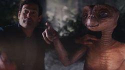 E.T. y Elliott se reencuentran en un anuncio navideño casi 40 años
