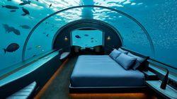 Muraka, μια υποβρύχια, πολυτελής σουίτα στις Μαλδίβες - για ύπνο παρέα με τους
